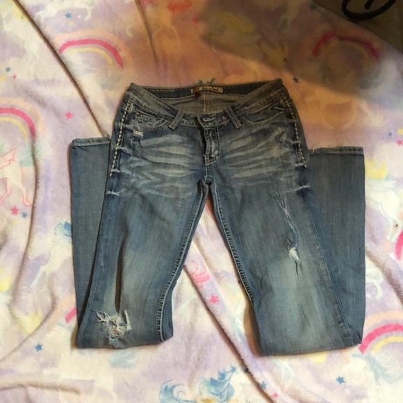 BKE jeans size 26 x 33 1/2